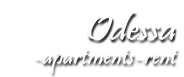 Odessa Accommodation: rent Apartments