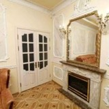 Odessa apartment with a fire place